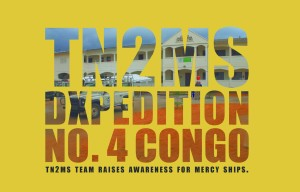 QSL card of TN2MS